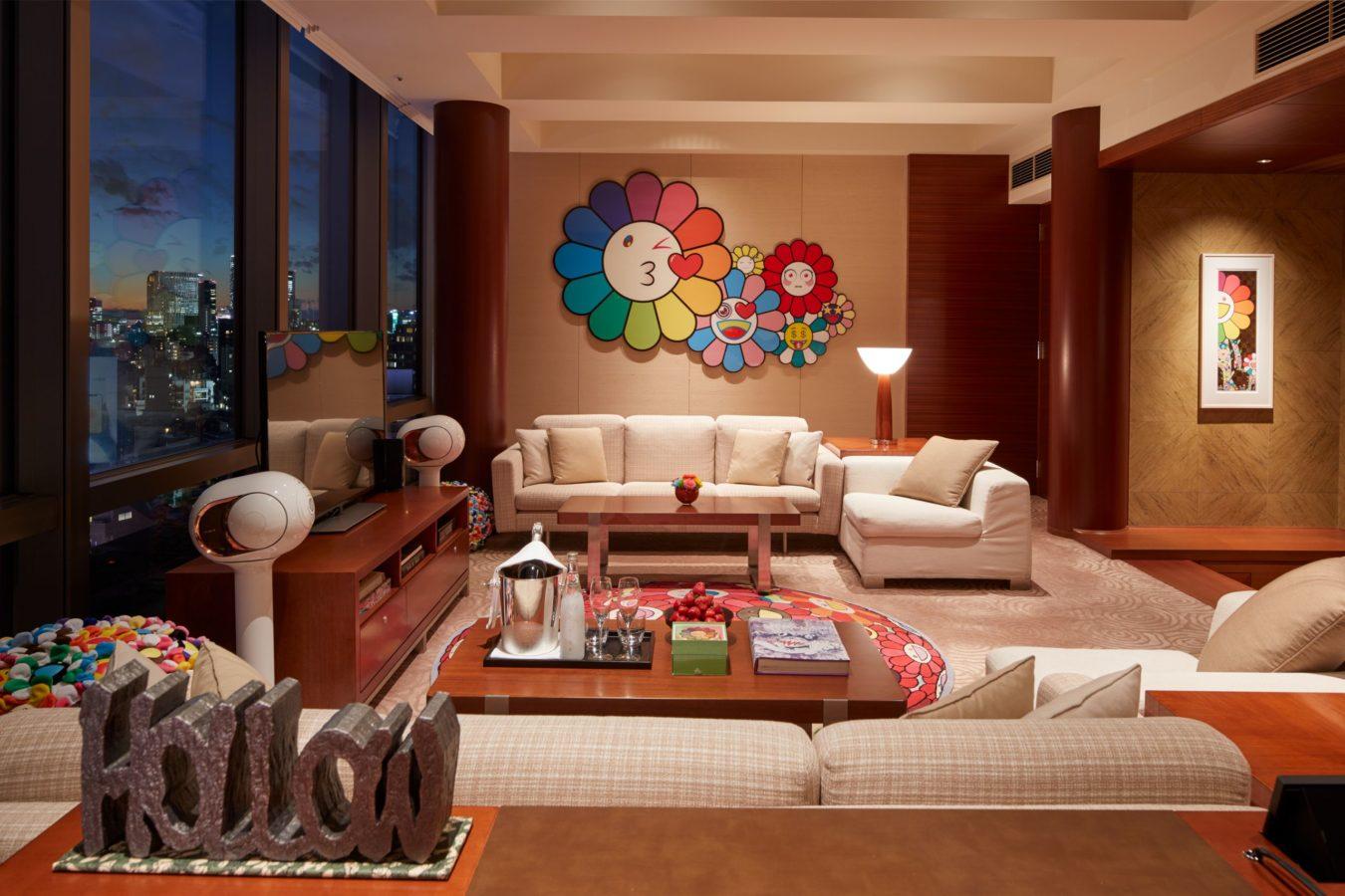 Takashi Murakami Transforms Grand Hyatt Tokyo into A World of Colourful Wonder