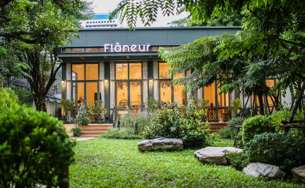 Flaneur - Garden greenery