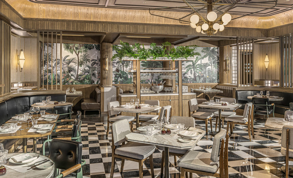 Brasserie Palmier at Four Seasons