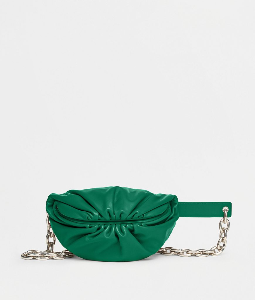 bottega veneta belt chain pouch