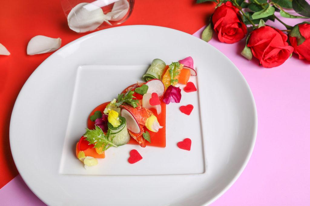 Valentine's Day set menu at Volti