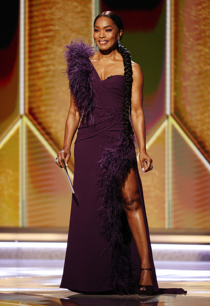 angela bassett 78th golden globes
