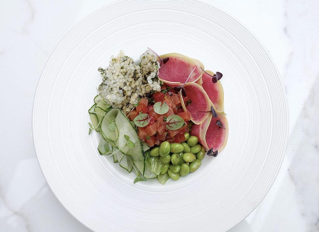White Shuffle - Yellowfin Tuna Salad