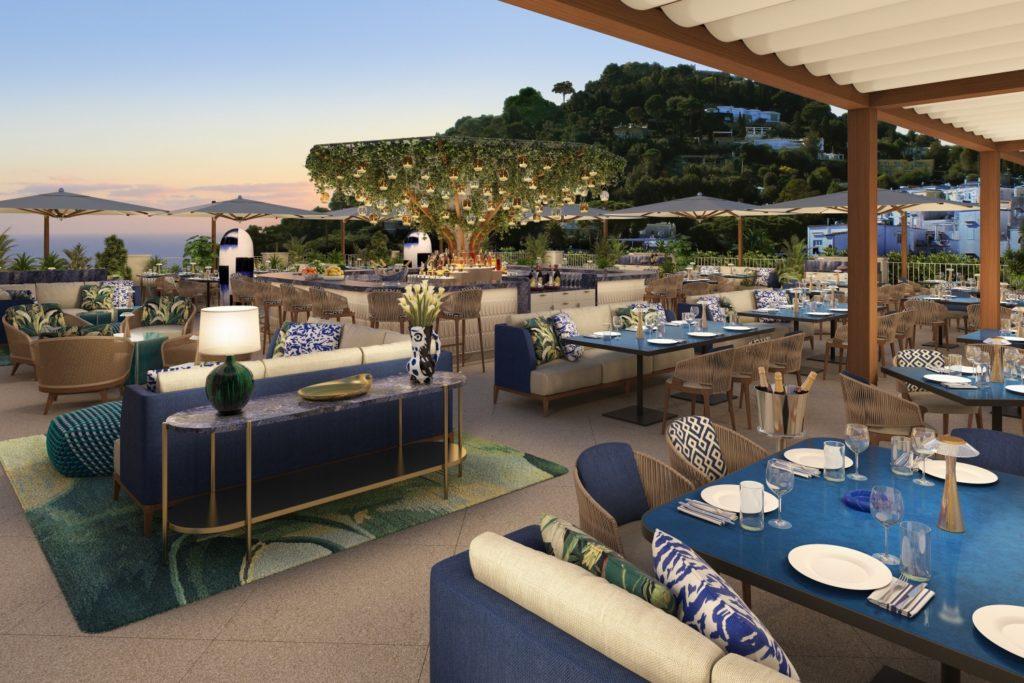 Hotel La Palma sul tetto bianco