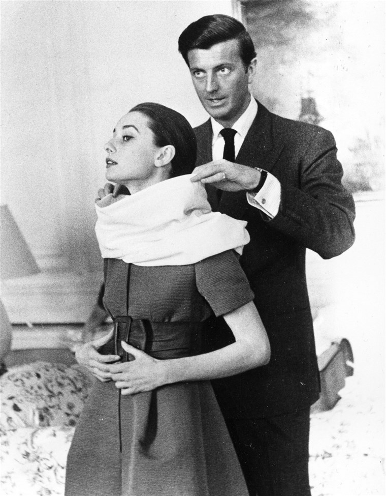 Givenchy Hepburn fashion muses