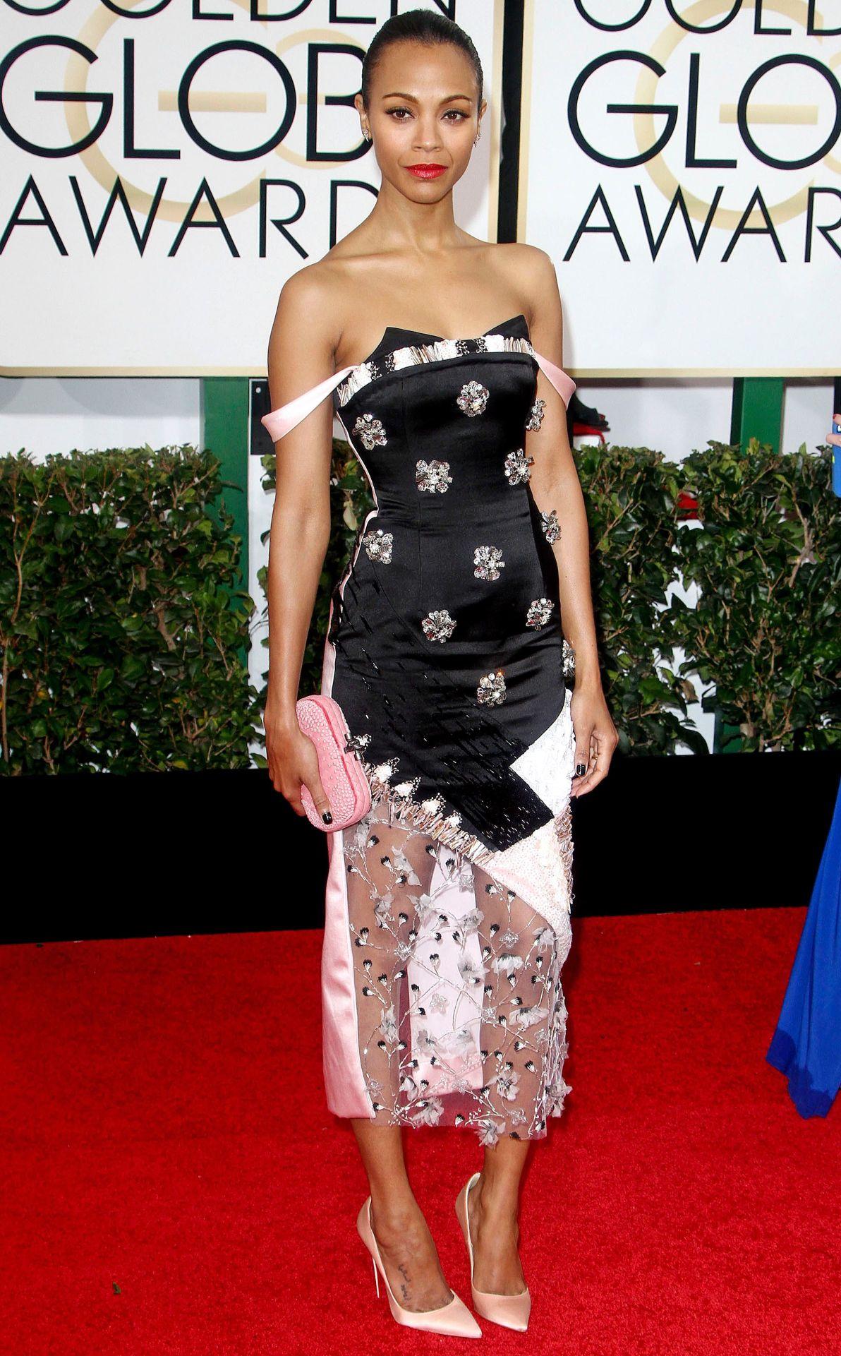 Zoe Saldana Golden Globe