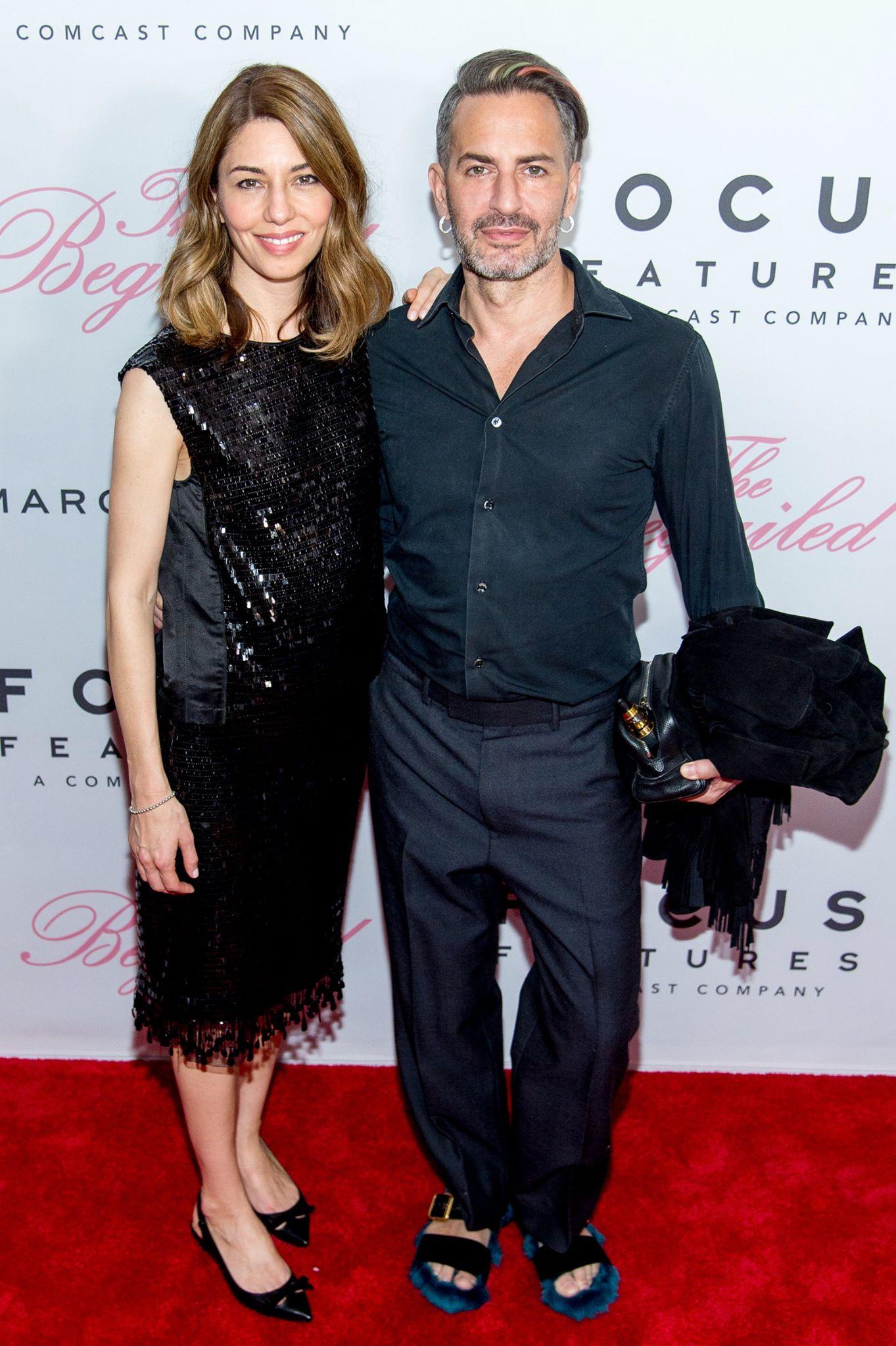 fashion muses Marc Jacobs with Sofia