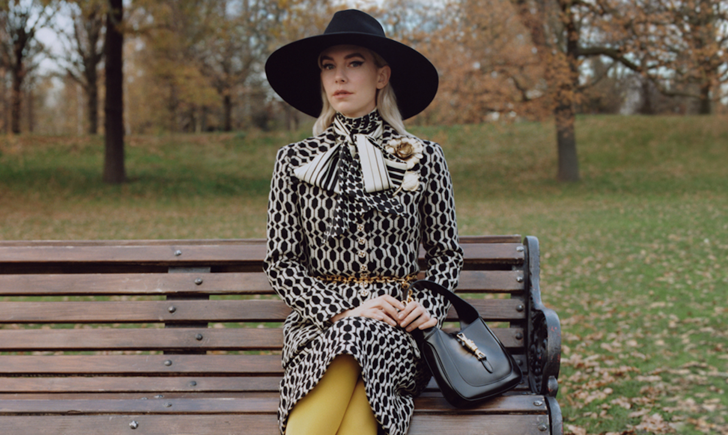 """Gucci's """"Winter In The Park"""" Campaign is a Cinematic Stroll Through a London Park"""