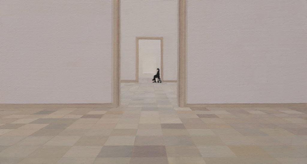 In the Museum by Yang Bodu