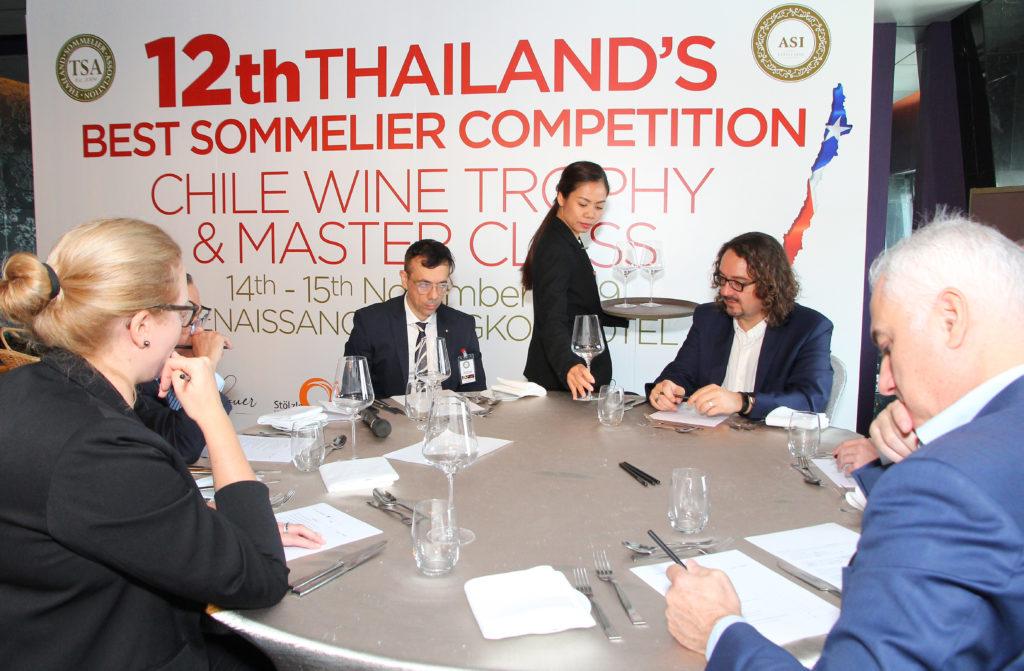 Nutawan Jumpanak Thailand's Best Sommelier 2019