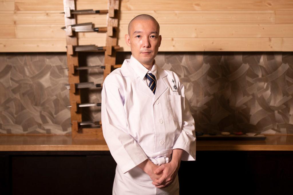 Chef Shunpei Takizawa