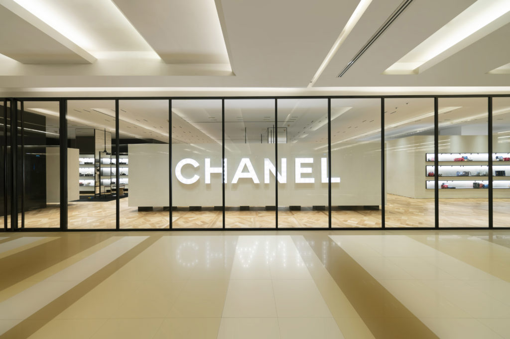 chanel's ephemeral boutique