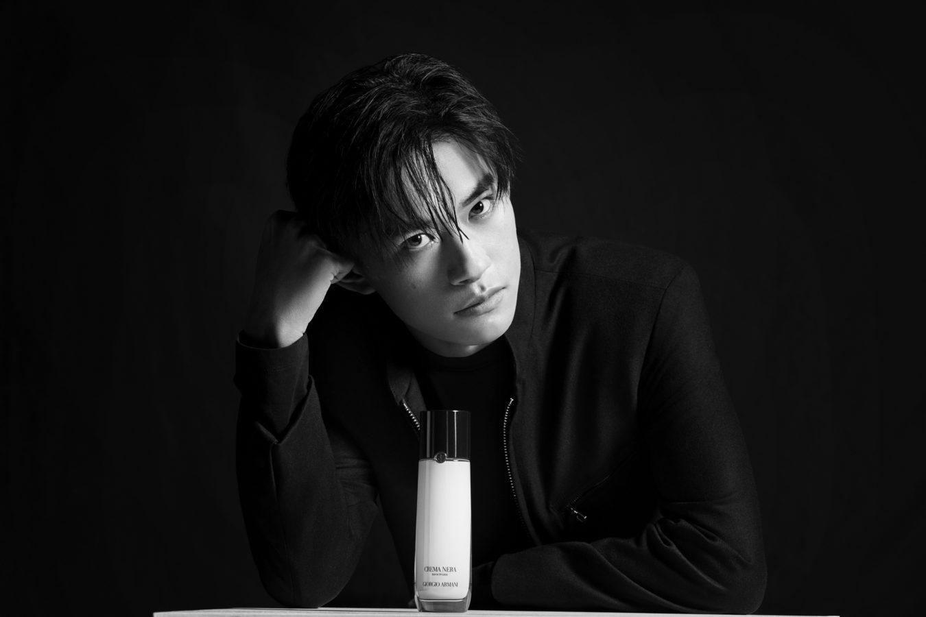 Jackson Yee as Giorgio Armani's New Global Makeup and Skincare Ambassador