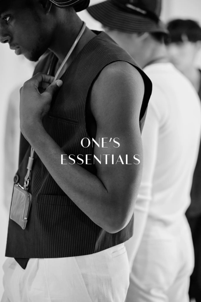 one's essentials