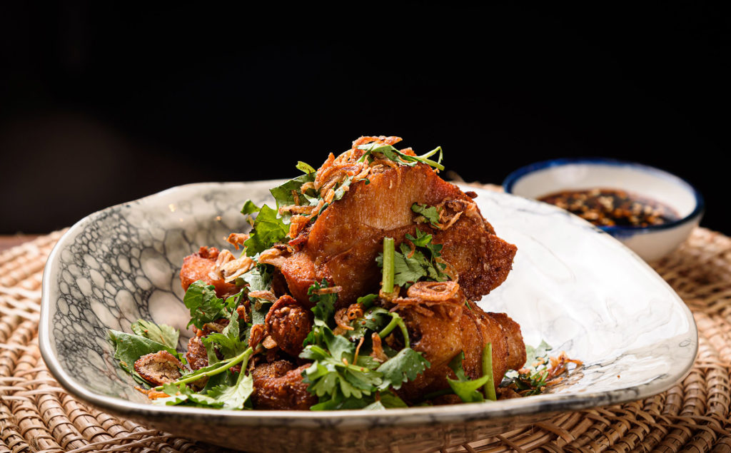 Deep-fried chicken with cumin and five spice