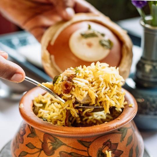 Lucknowi Chicken Dum Biryani - 392 THB from 490 THB