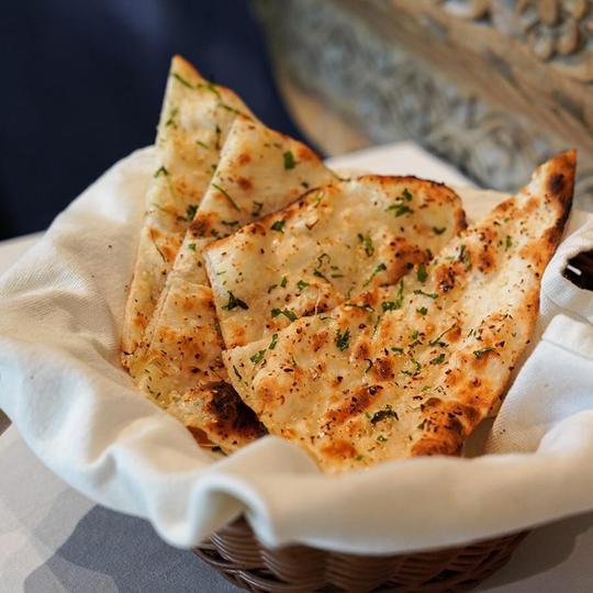 Garlic Naan - 96 THB from 120 THB
