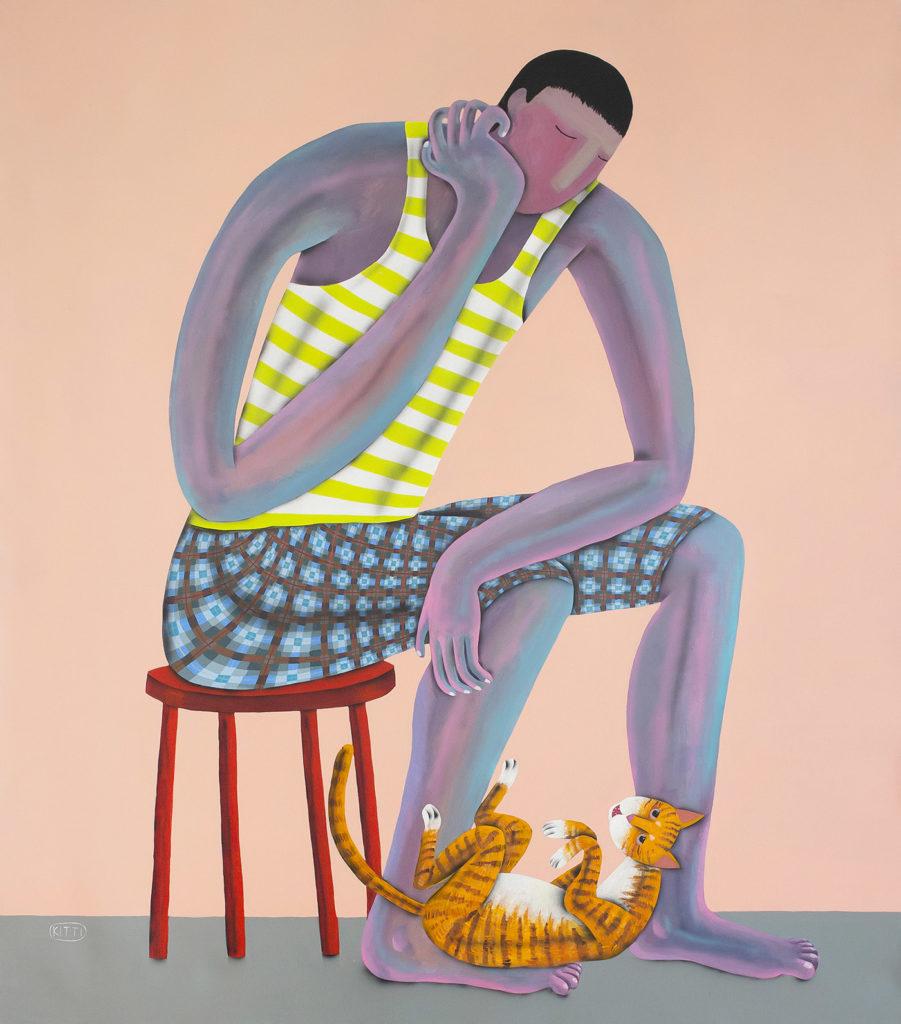 The Thinker by Kitti Narod