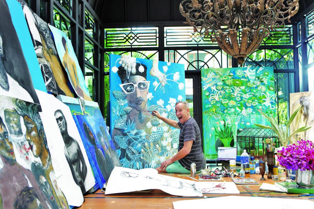 Bill Bensley in Studio
