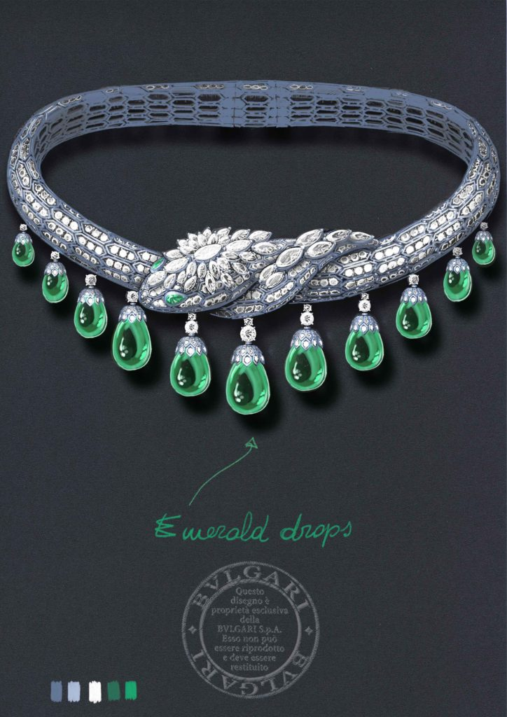 Bvlgari Lady Necklace Collection