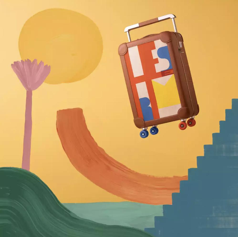 hermès luggage