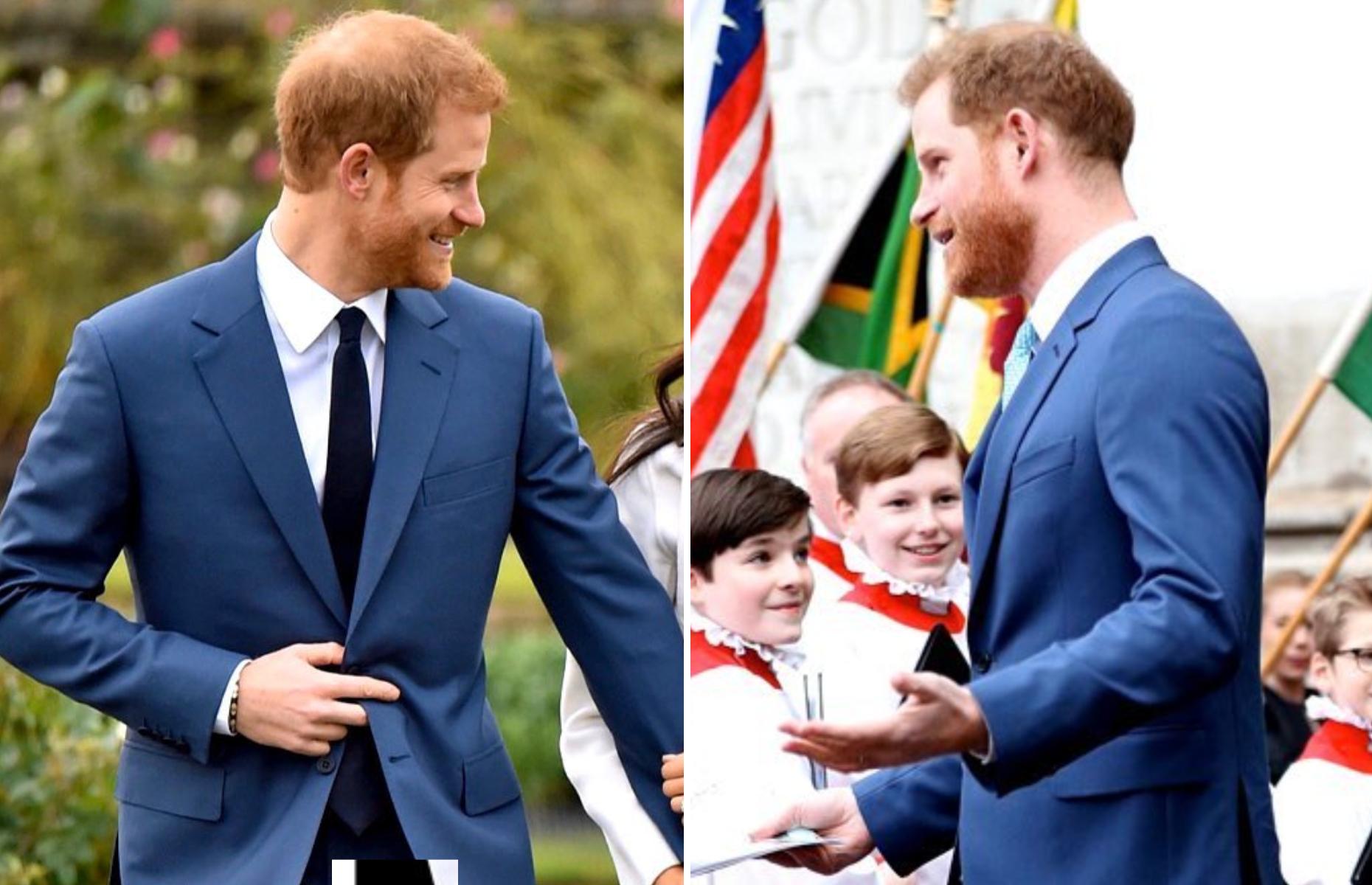 royals fashion harry