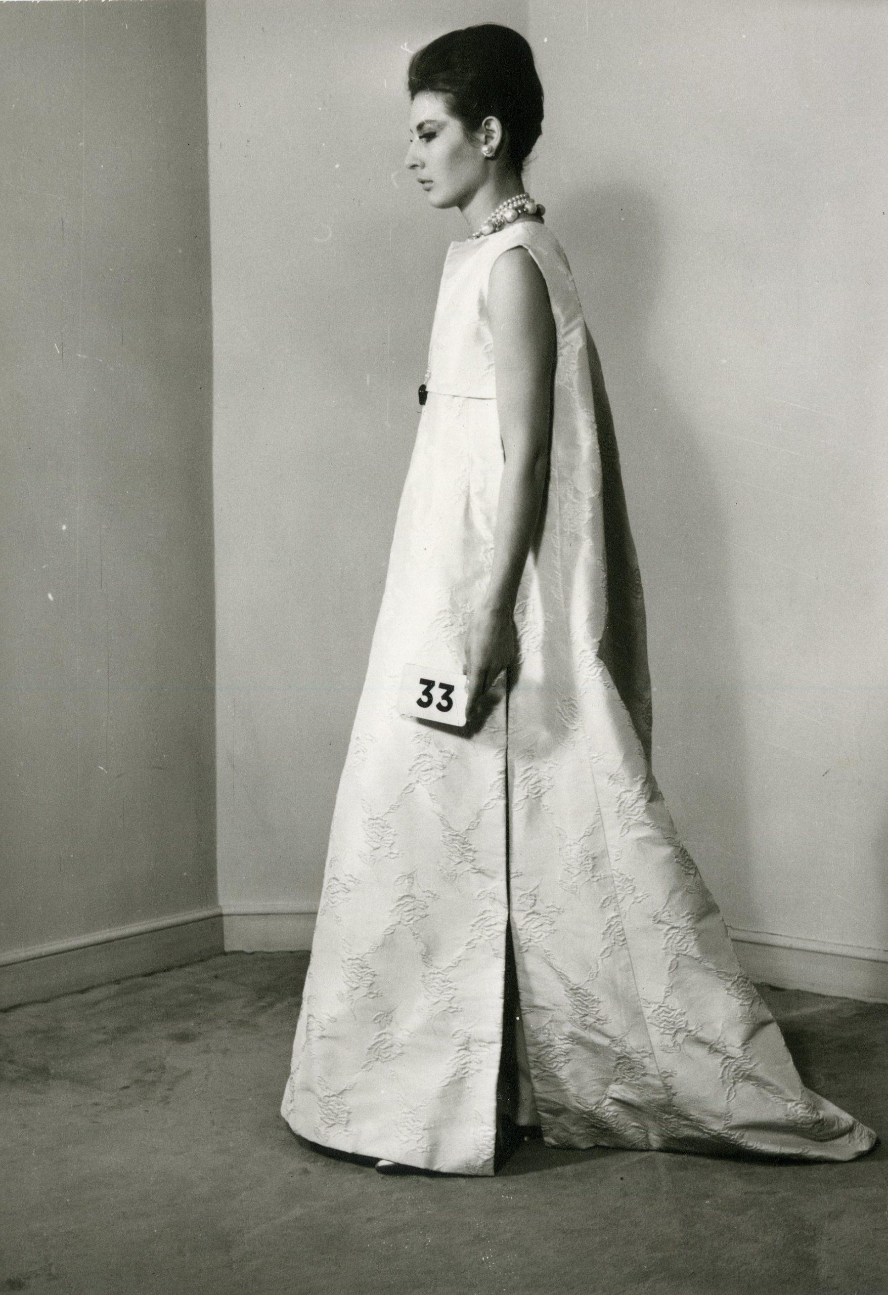 balenciaga's 50th couture