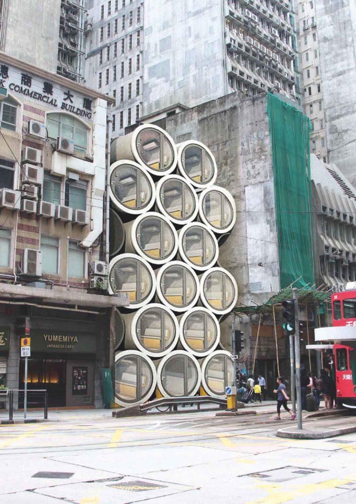 OPod micro-housing in Hong Kong