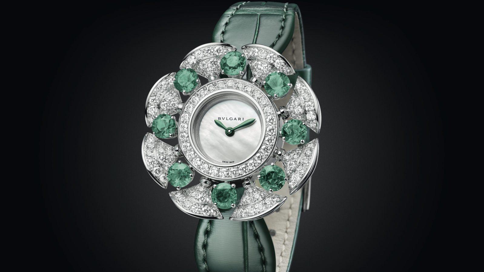 The Latest Bulgari Divas' Dream Divissima Emeralds Showcases Superior Mastery