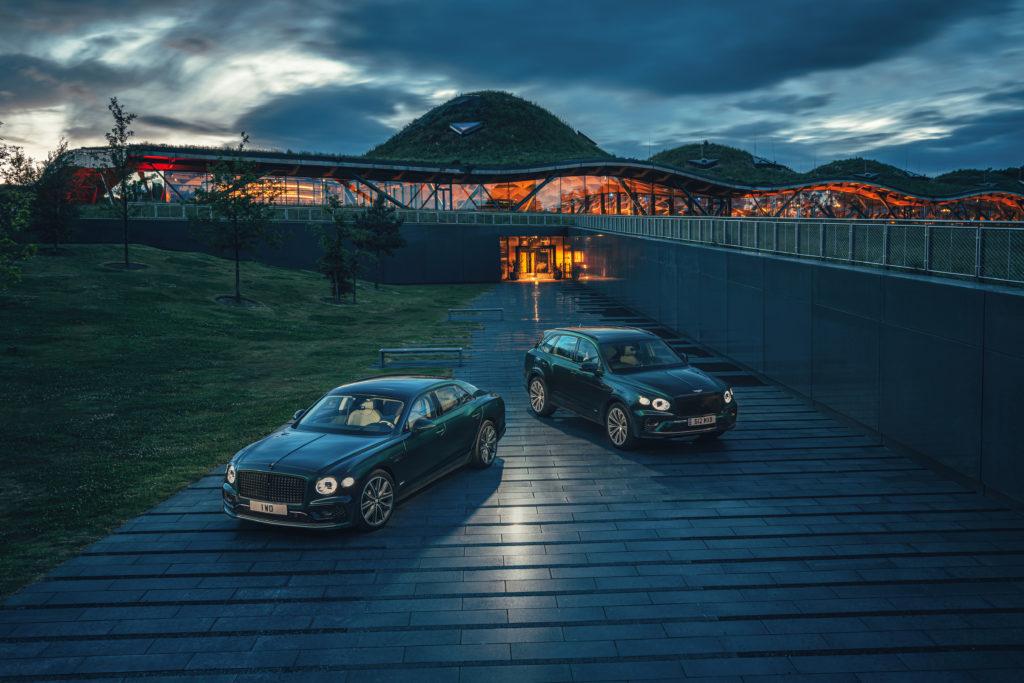 Bentley sustainable future
