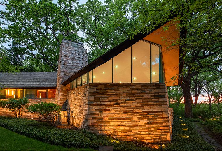 Frank Lloyd Wright frieda and henry j neils house
