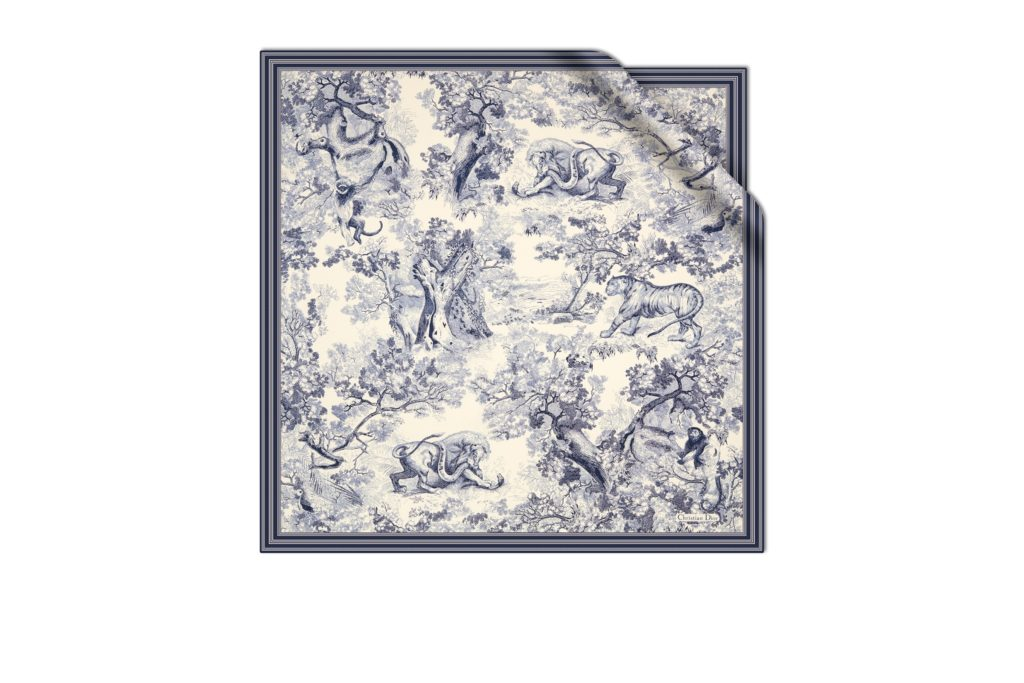 dior's aw21 silk scarves