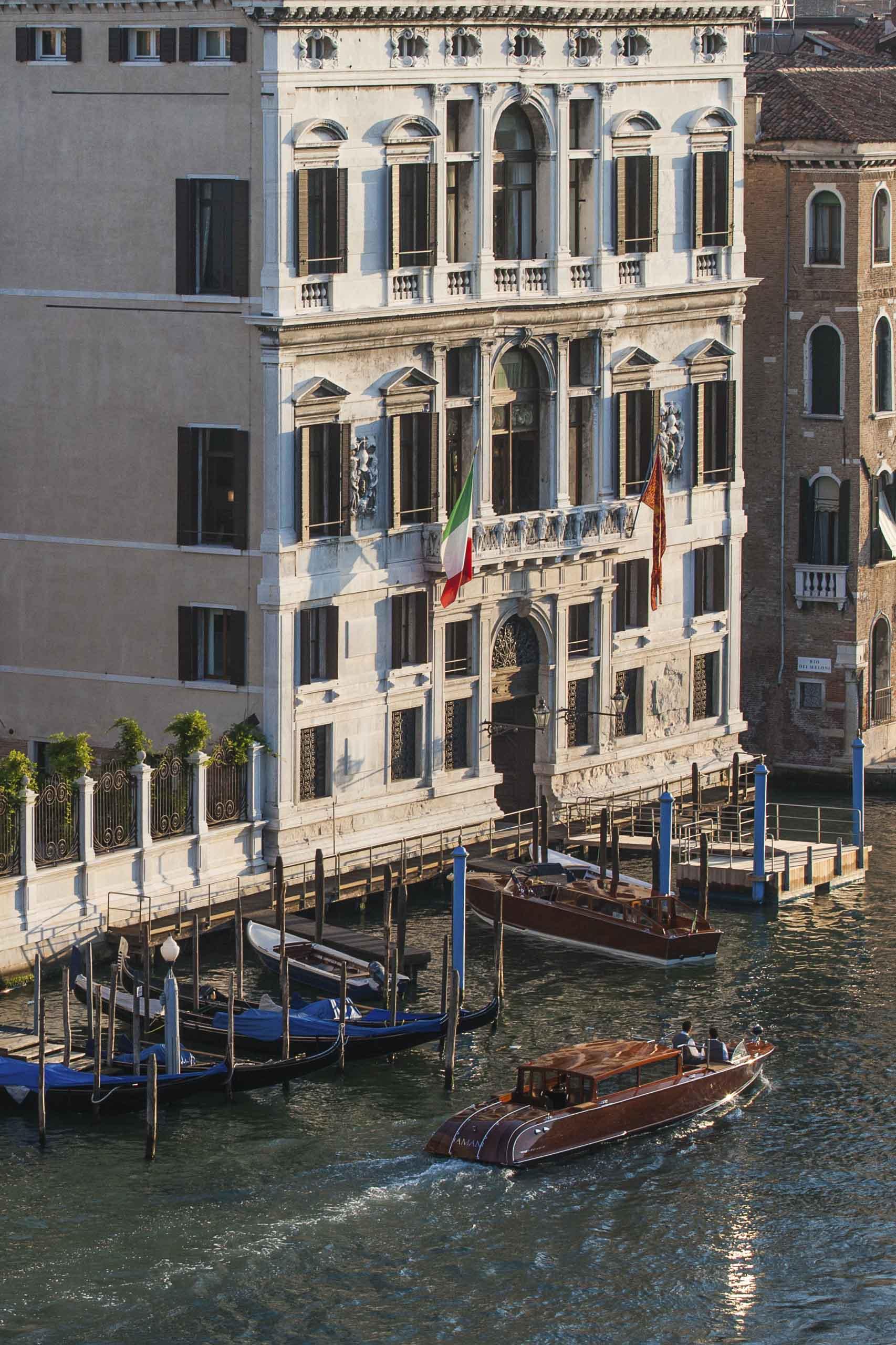 luxury residences aman venice