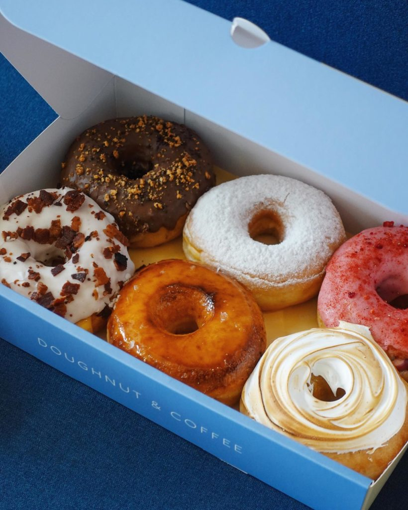 gourmet doughnuts bangkok drop by dough