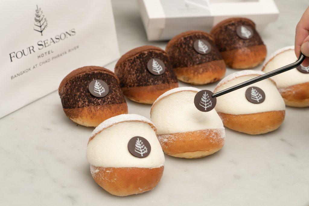 gourmet doughnuts bangkok cream pridi