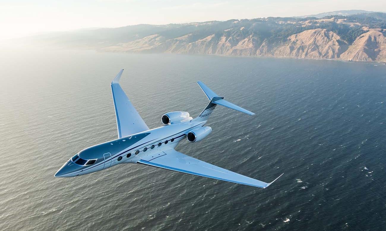 Gulfstream G650 Bill Gates