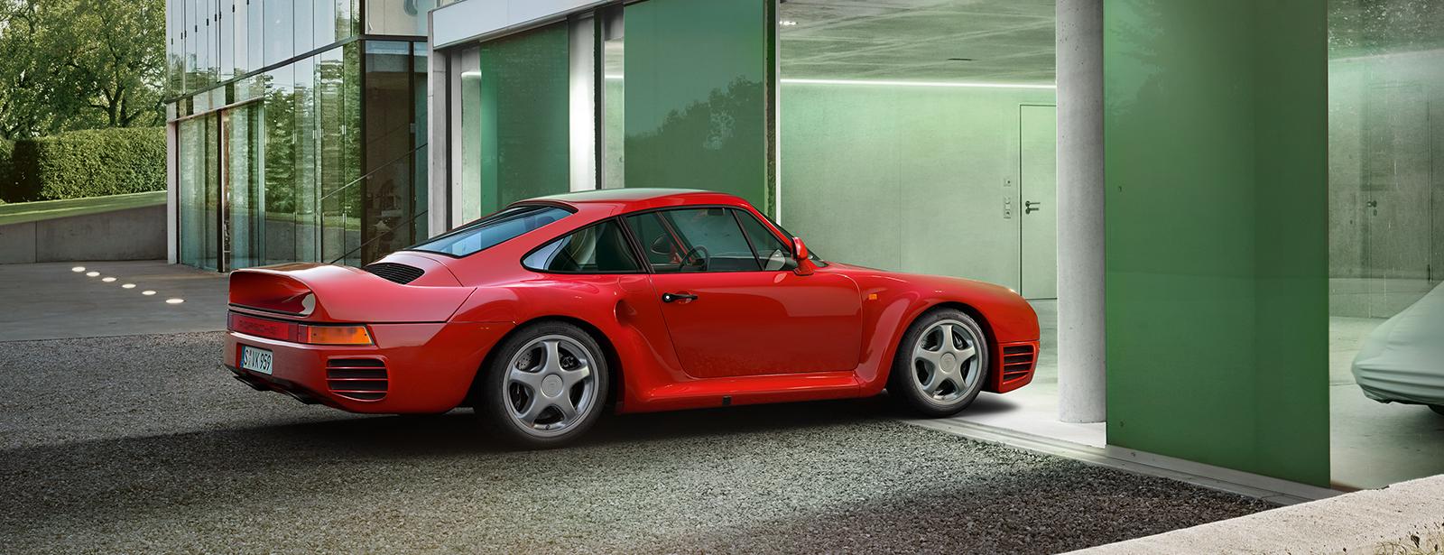 Porsche 959 Bill Gates