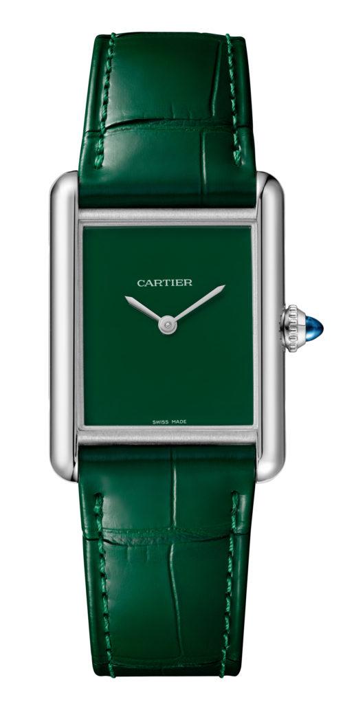 cartier tank green