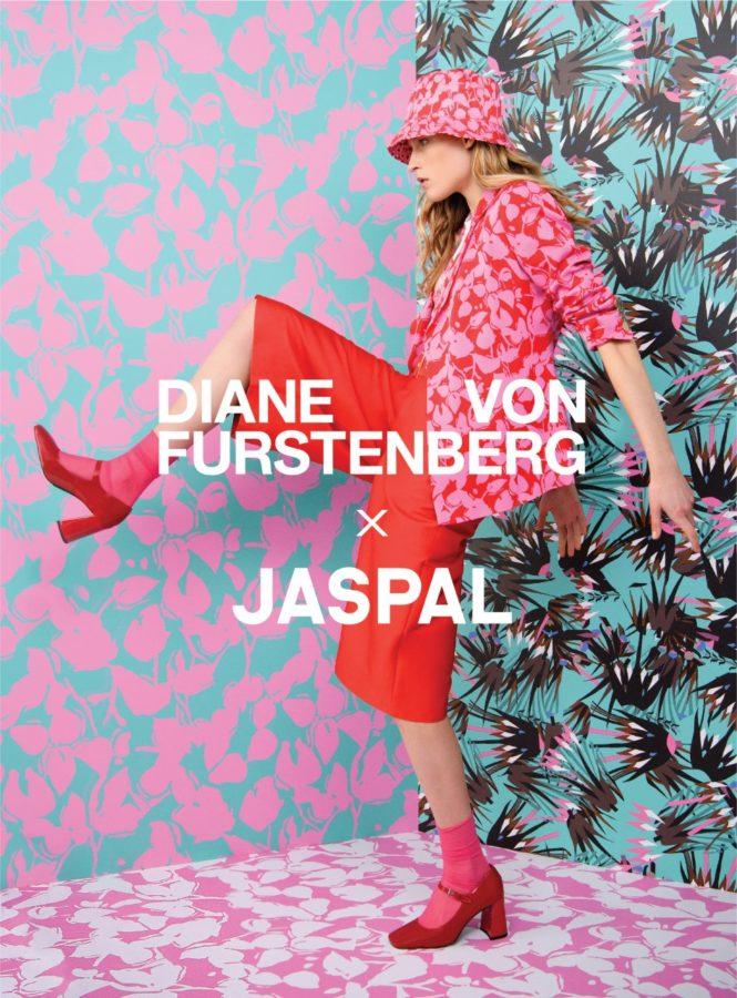 Jaspal and Diane von Fürstenberg Team up for a Colourful Collection