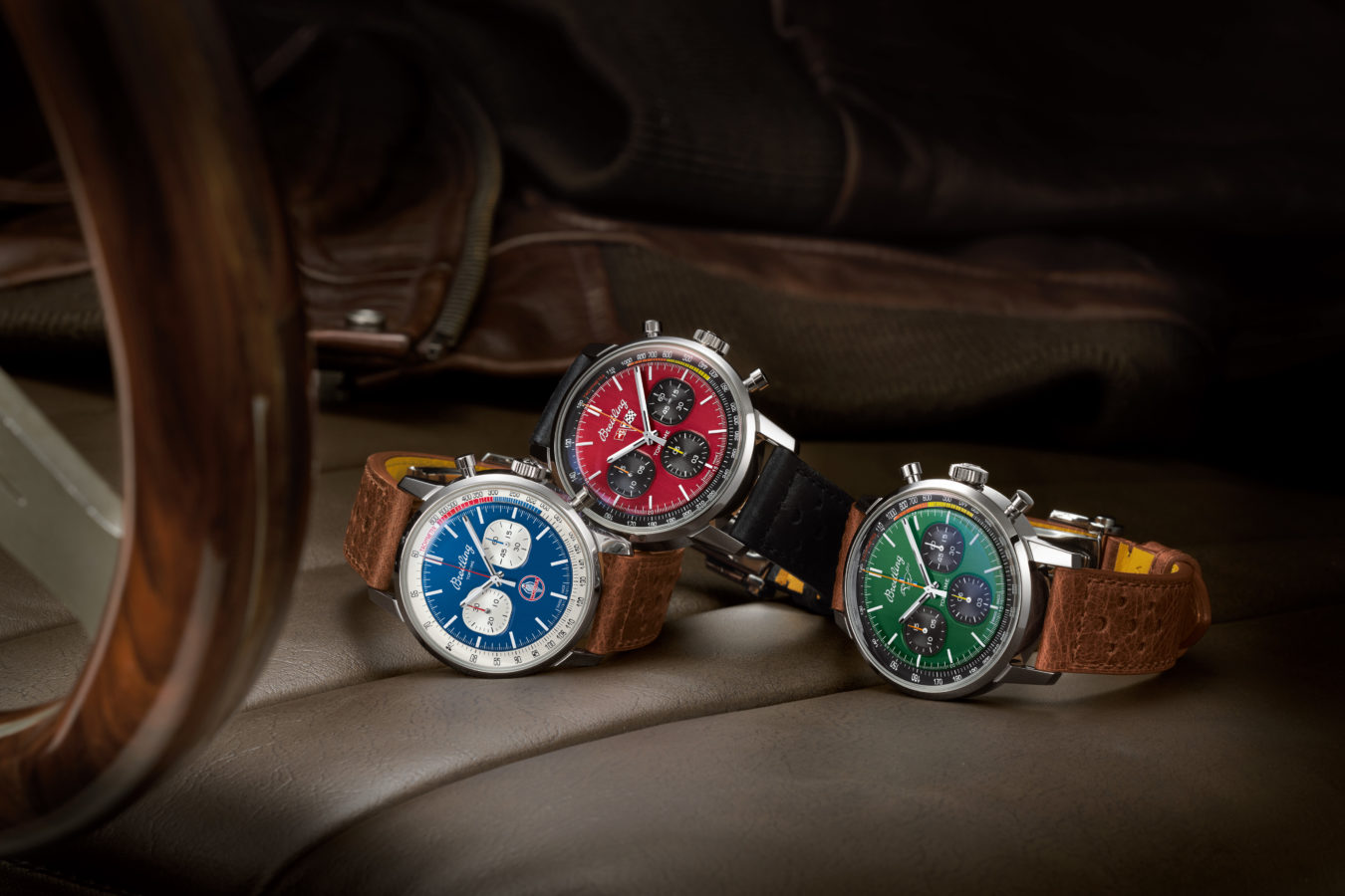 Breitling's Top Time Classic Cars Collection Celebrates American Car Icons