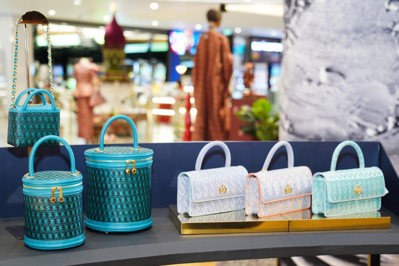 Sirivannavari Bangkok Unveils S'Craft Craftsmanship 2021with Exquisite Purses Made from Artisanal Thai Silk