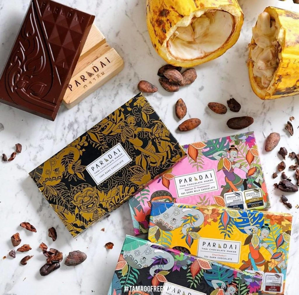 paradai thai chocolate