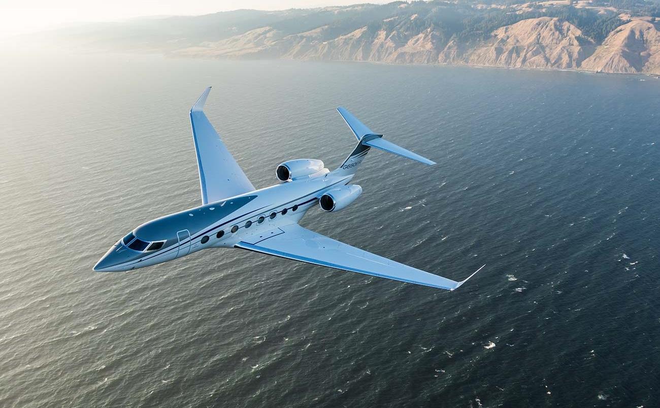 Gulfstream G-650ER Jeff Bezos