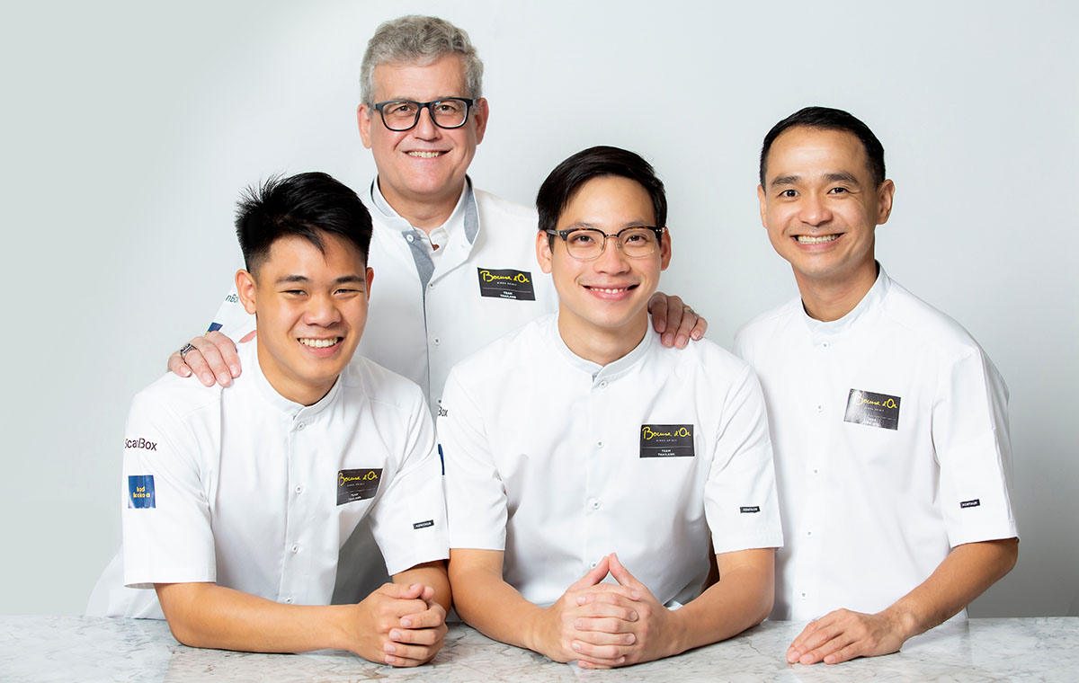 Thailand is Going for Gold this Year at the Bocuse D'Or Grand Finale