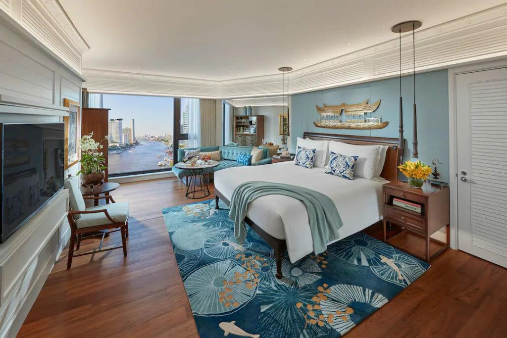 mandarin oriental bangkok suite