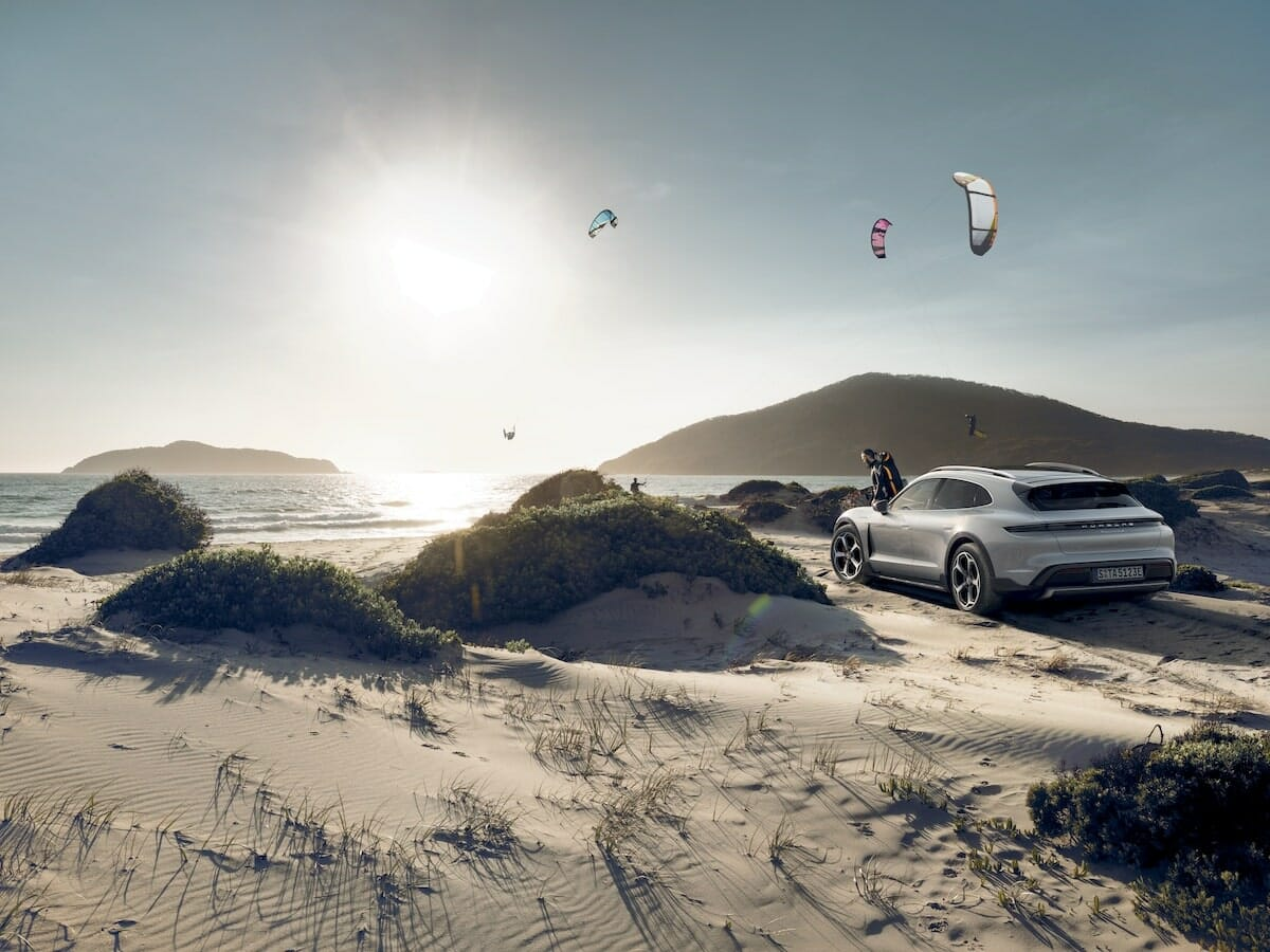 The Porsche Taycan 4S Cross Turismo Takes You off the Beaten Track