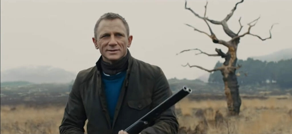 Barbour x To Ki To, James Bond outfits; brands that Daniel Craig style