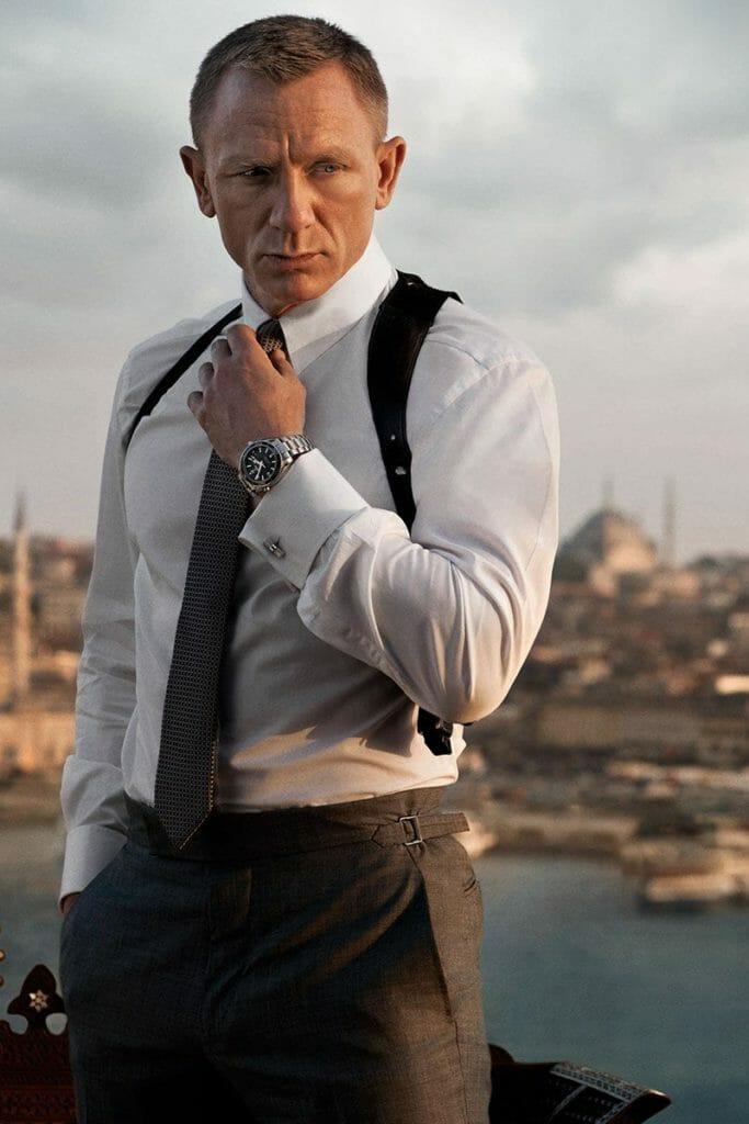 Omega Seamaster Planet, brands that Daniel Craig style