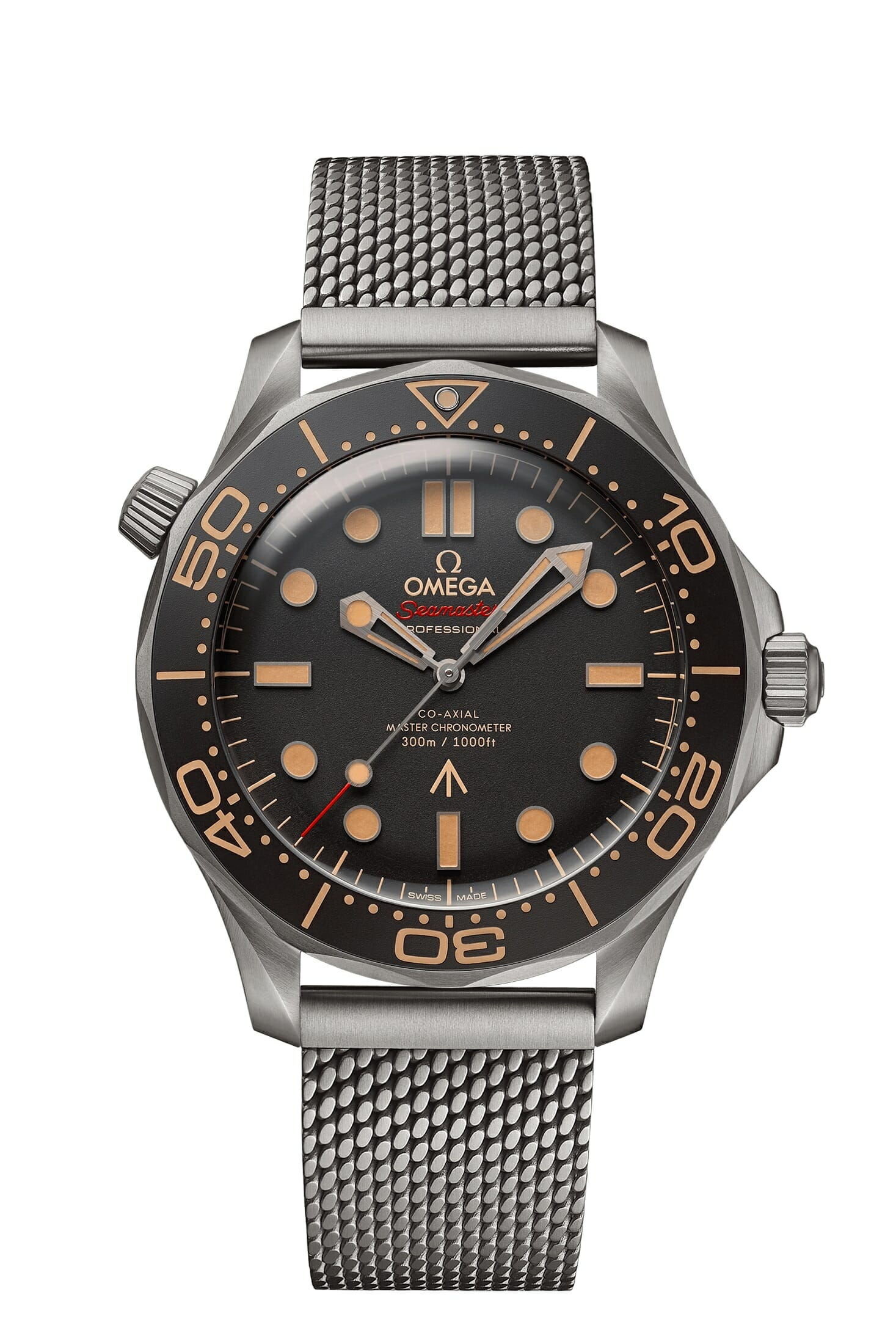 Omega Seamaster Diver 300M watch No Time to Die