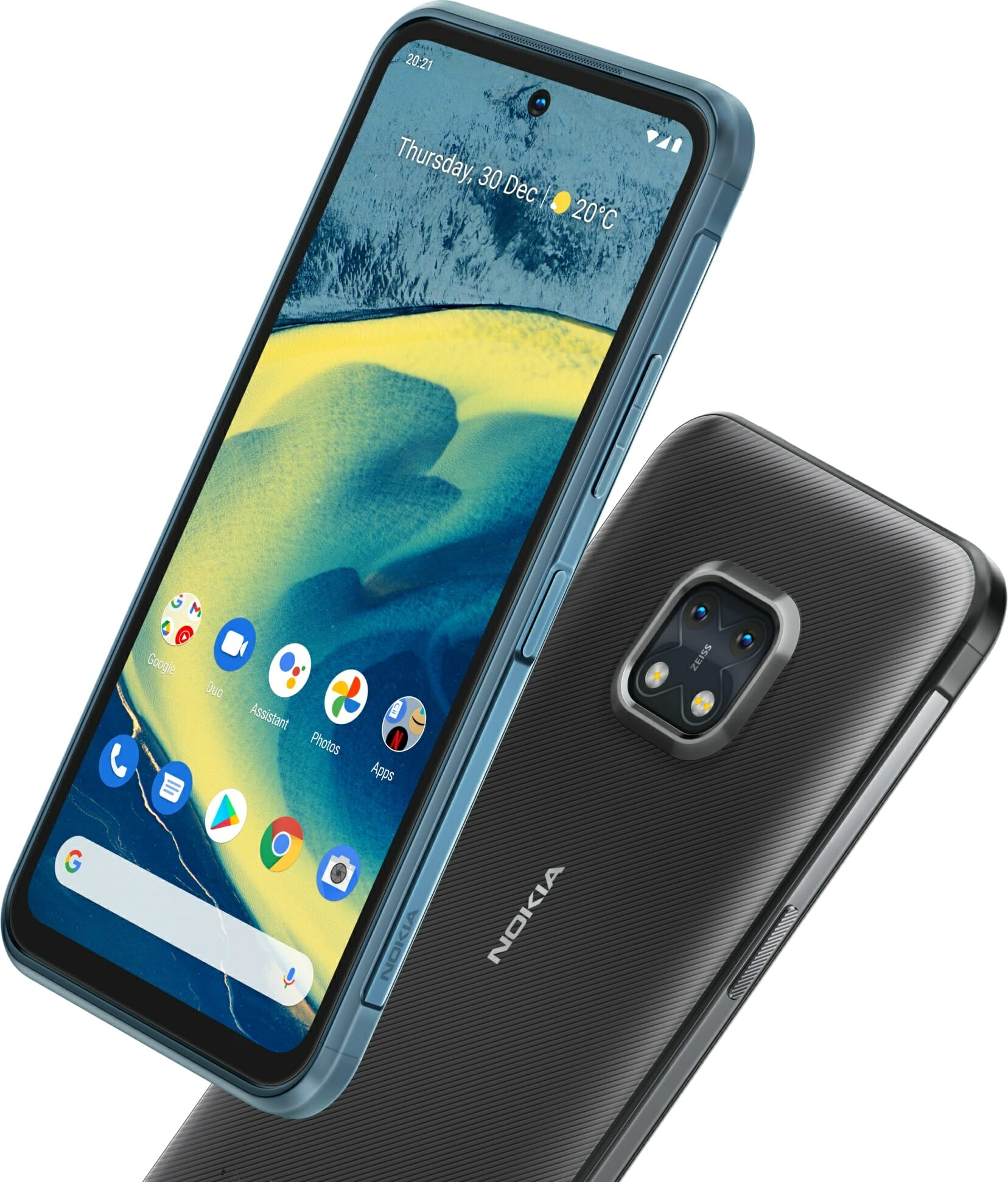 A Nokia XR20 phone No Time to Die